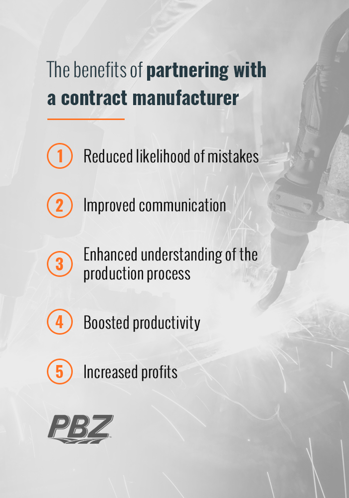 Contract Manufacturing Makes the Supply Chain More Efficient