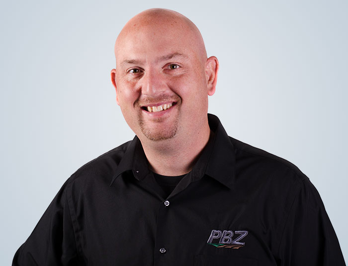 Andy Weaver - PBZ Sales Manager