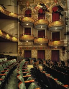 Theater interior